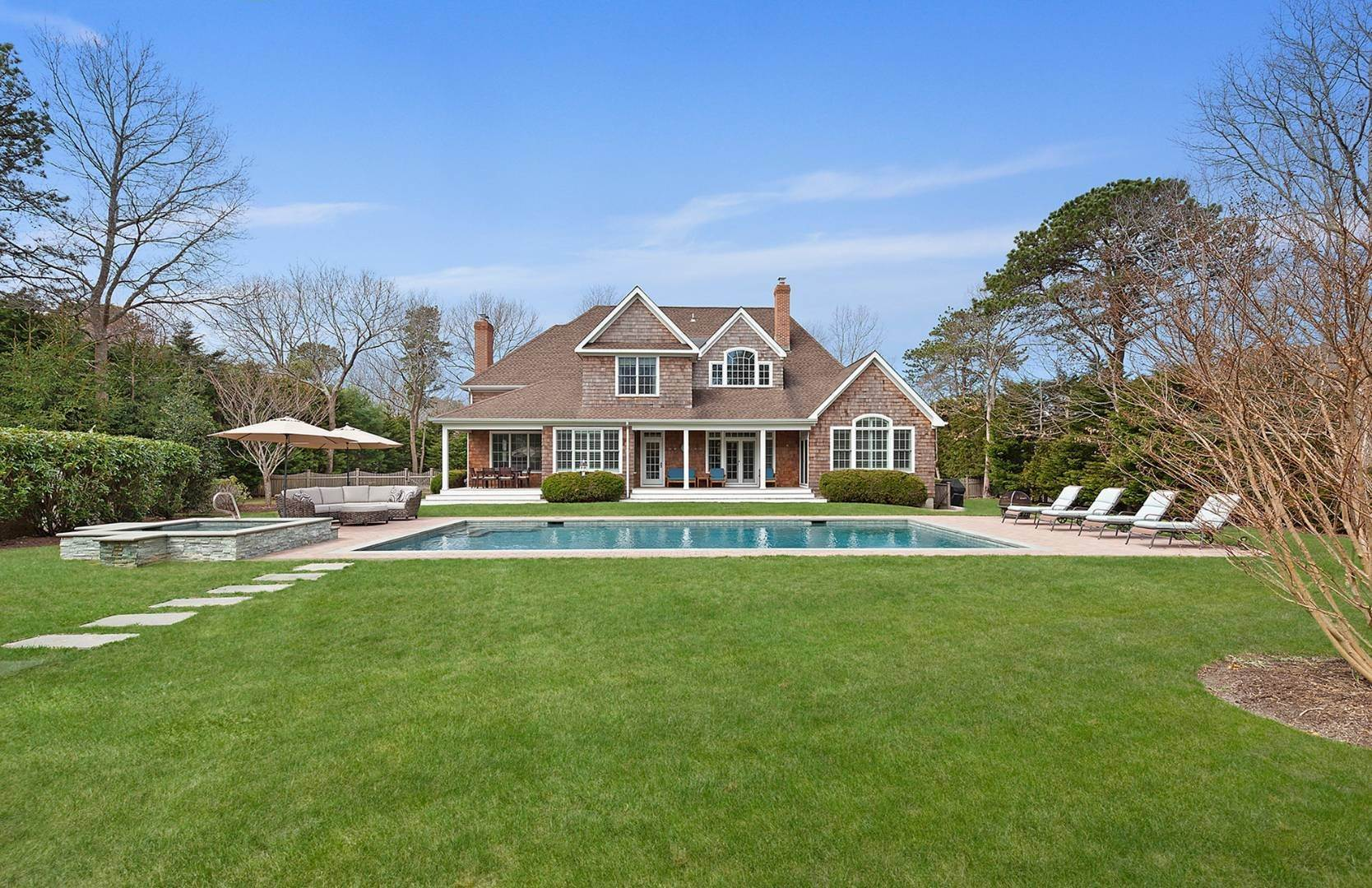 Single Family Home for Sale at Quogue Village With Pool And Tennis 15 Post Fields Lane, Quogue Village, NY 11959