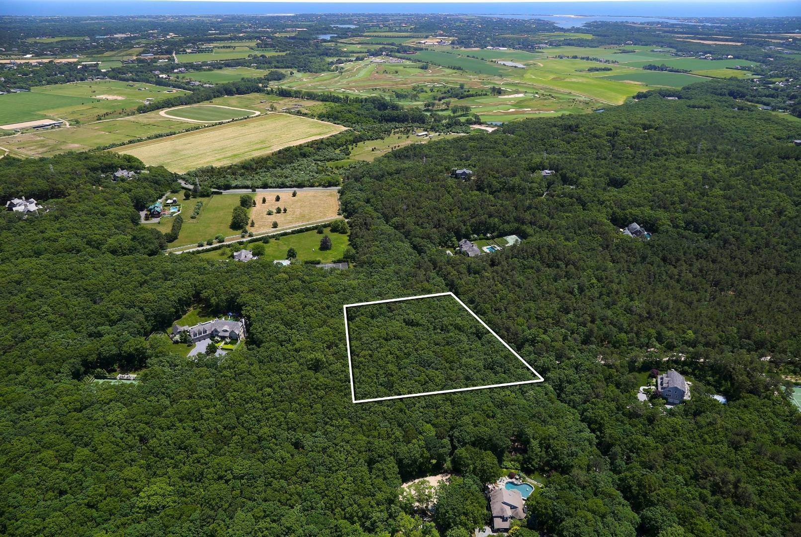 Land for Sale at 2.34 Acres In Water Mill Horse Country 1167 Noyac Path, Bridgehampton, NY 11976