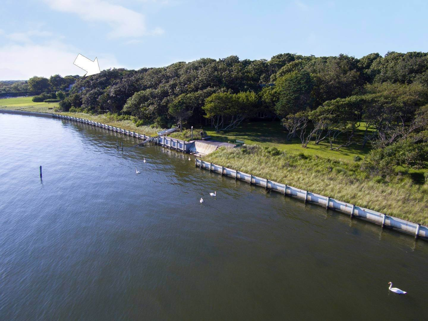 Land for Sale at Build Your Own Open Bayfront Tuthill Point East Moriches Tuthill Point Road (Adjacent To #77), East Moriches, NY 11940