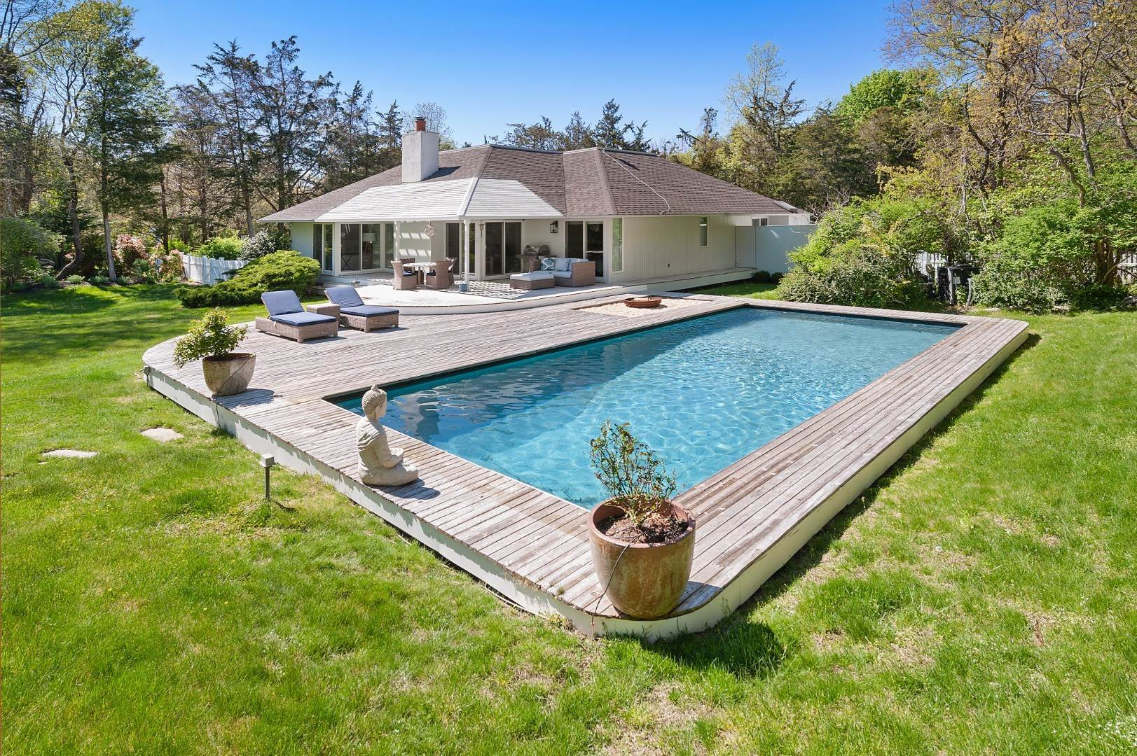Single Family Home for Sale at New Contemporary In Southampton 50 Barkers Island Road, Southampton, NY 11968