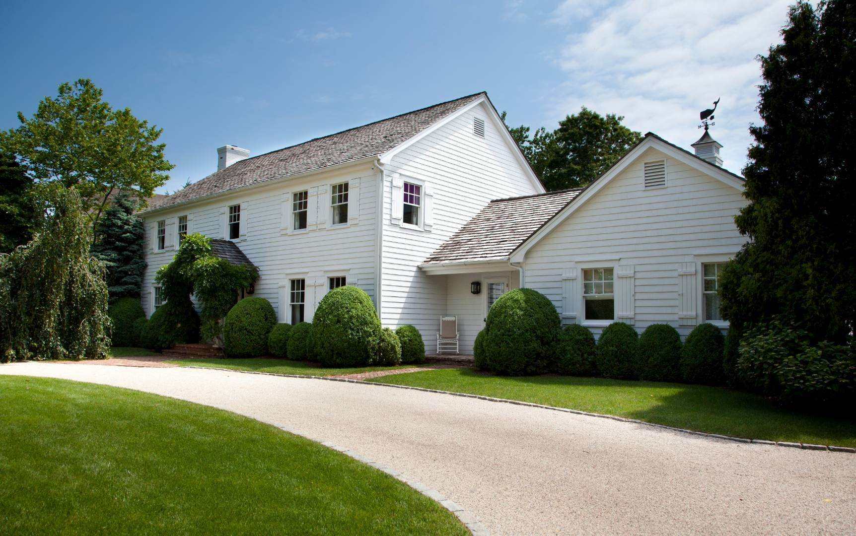 Single Family Home for Sale at Southampton Village Home, Honed From Experience 121 Harvest Lane, Southampton, NY 11968