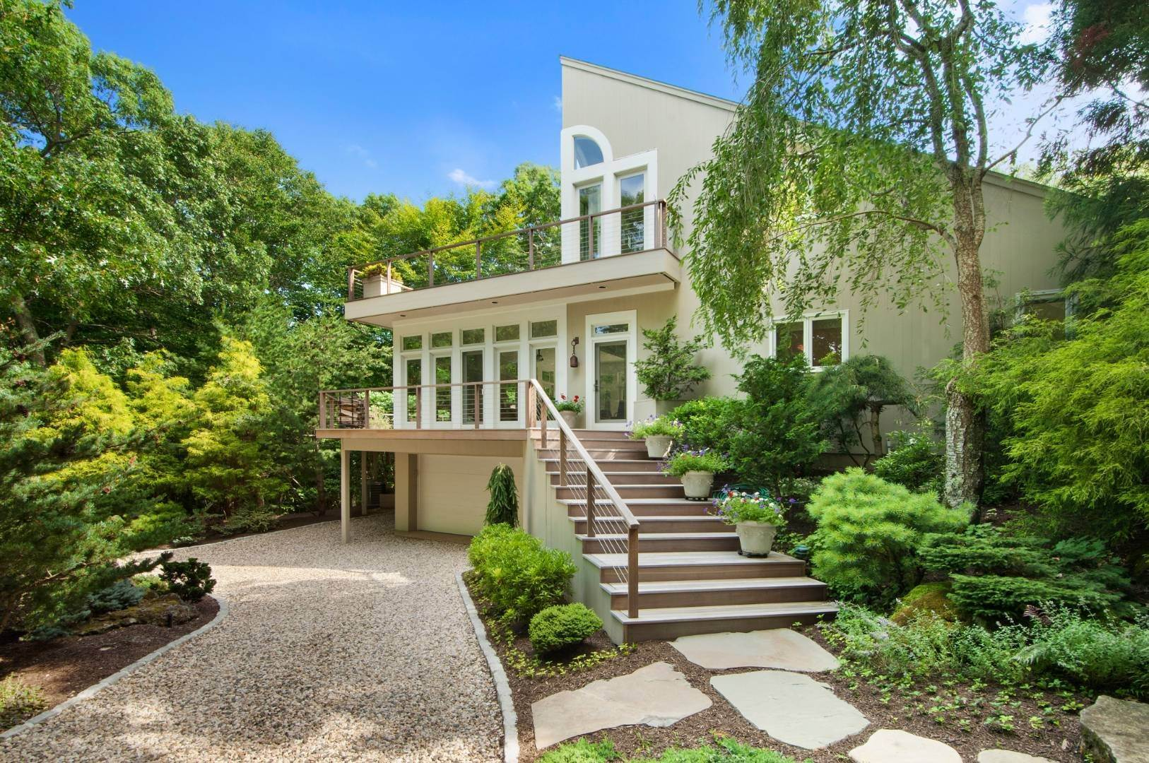 Single Family Home for Sale at Amagansett Bell Estate Contemporary 19 Bell Place, Amagansett, NY 11930