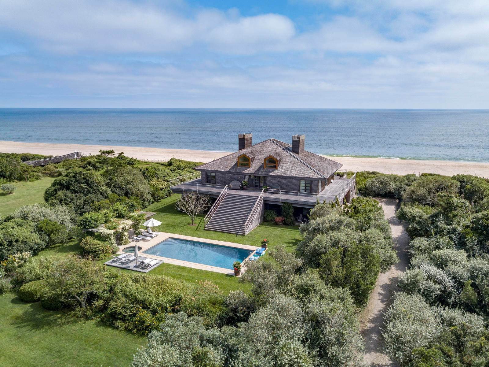 20. Single Family Home at Sagaponack Coveted Oceanfront Sagaponack Village, NY 11962