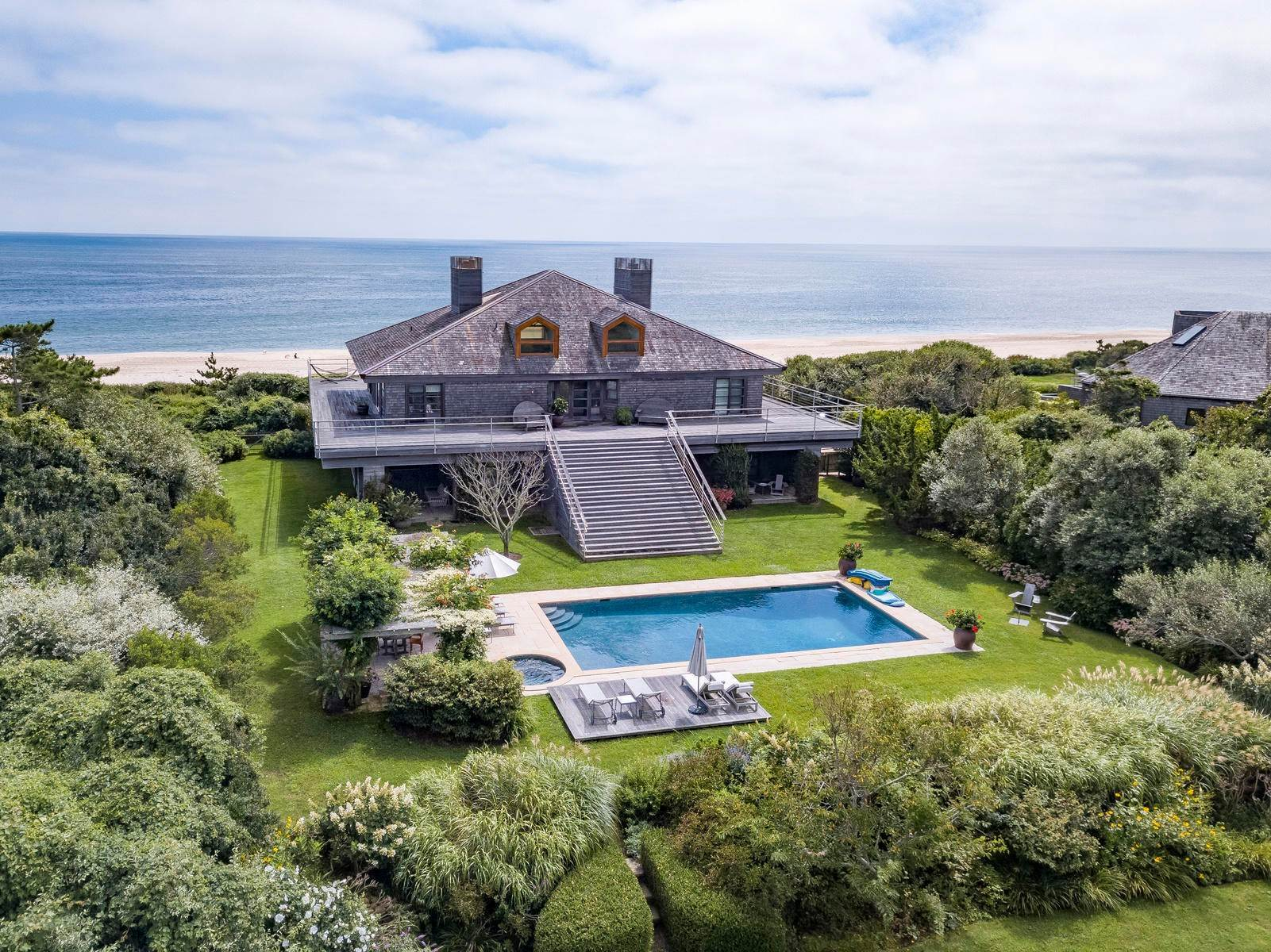 Single Family Home at Sagaponack Coveted Oceanfront Sagaponack Village, NY 11962