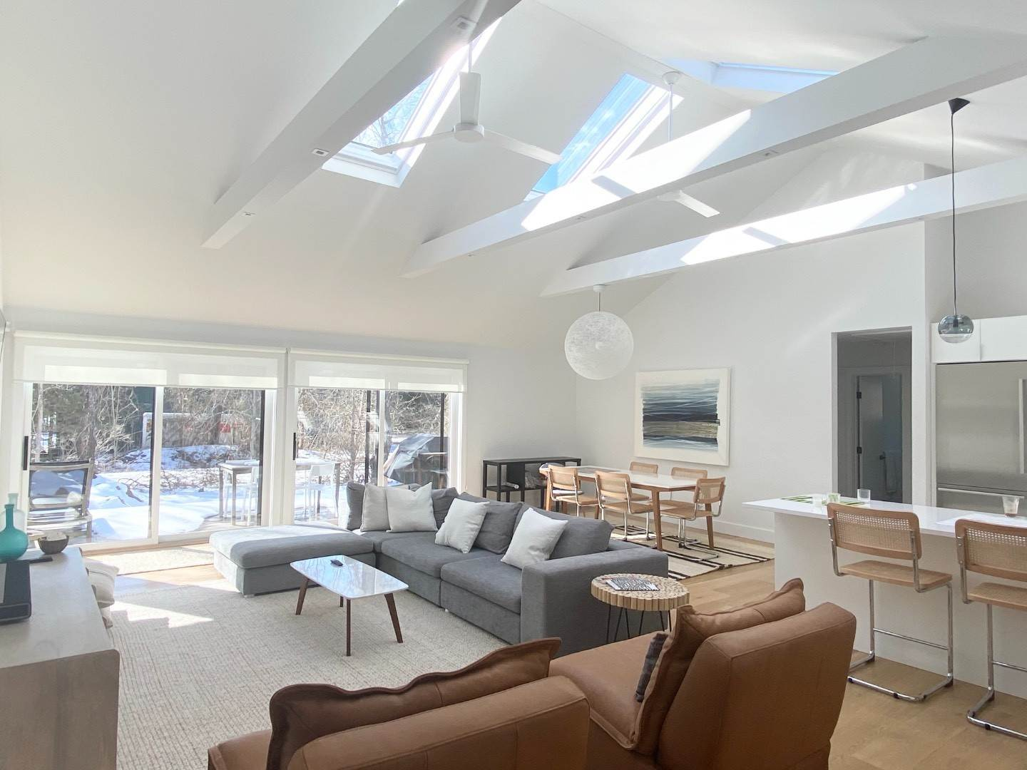 5. Single Family Home at New Modern Ranch Home For Rent 177 Meadows West, Bridgehampton, NY 11932