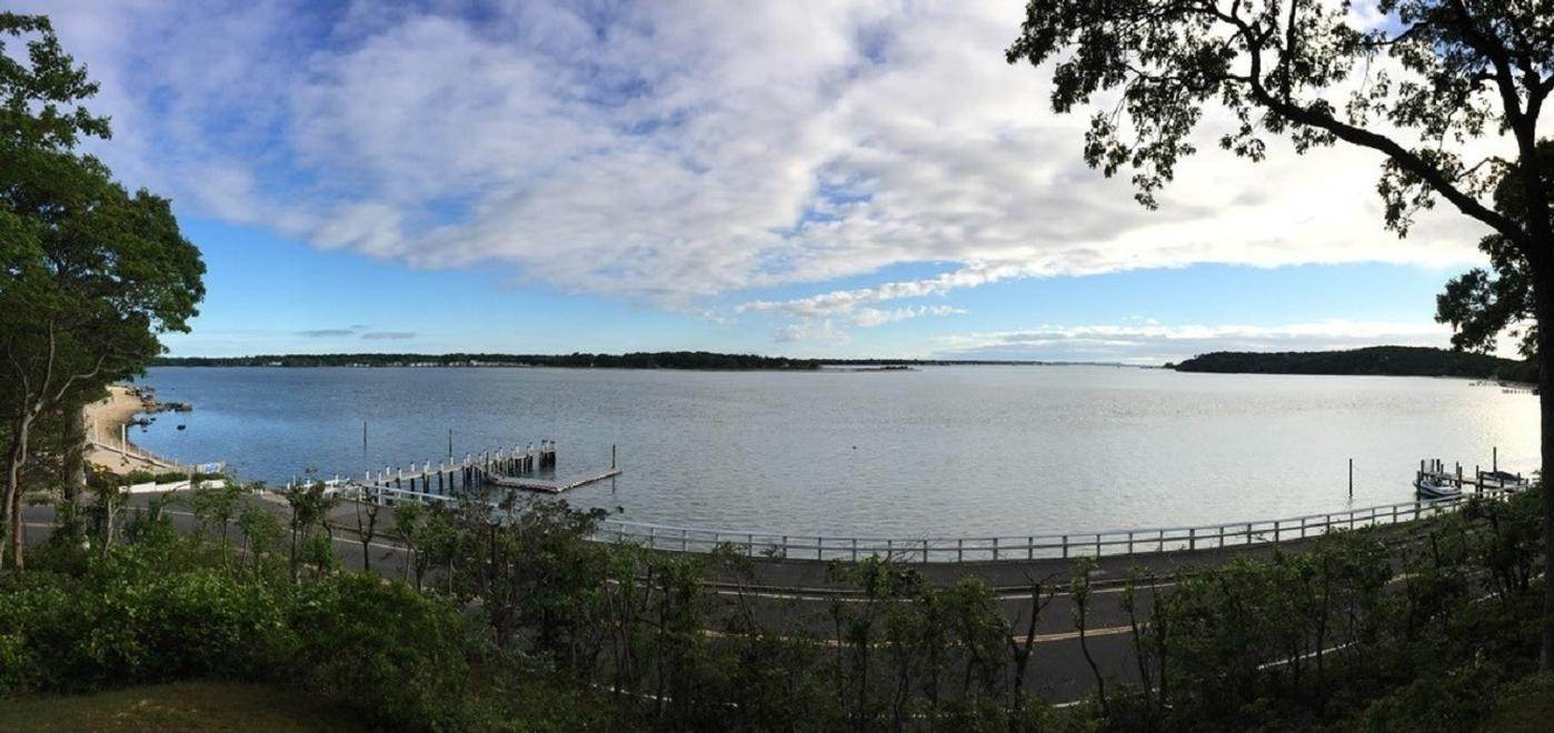 Single Family Home at 180 Degree View Of Beautiful Crescent Beach Shelter Island Heights, NY 11964