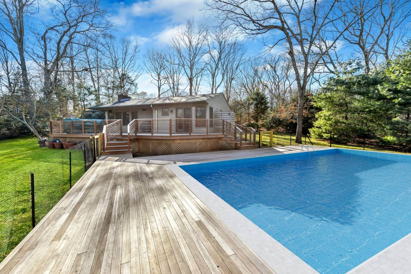 Single Family Home at Private And Chic 3 Bedroom With Brand New Gunite Pool! East Hampton, NY 11937