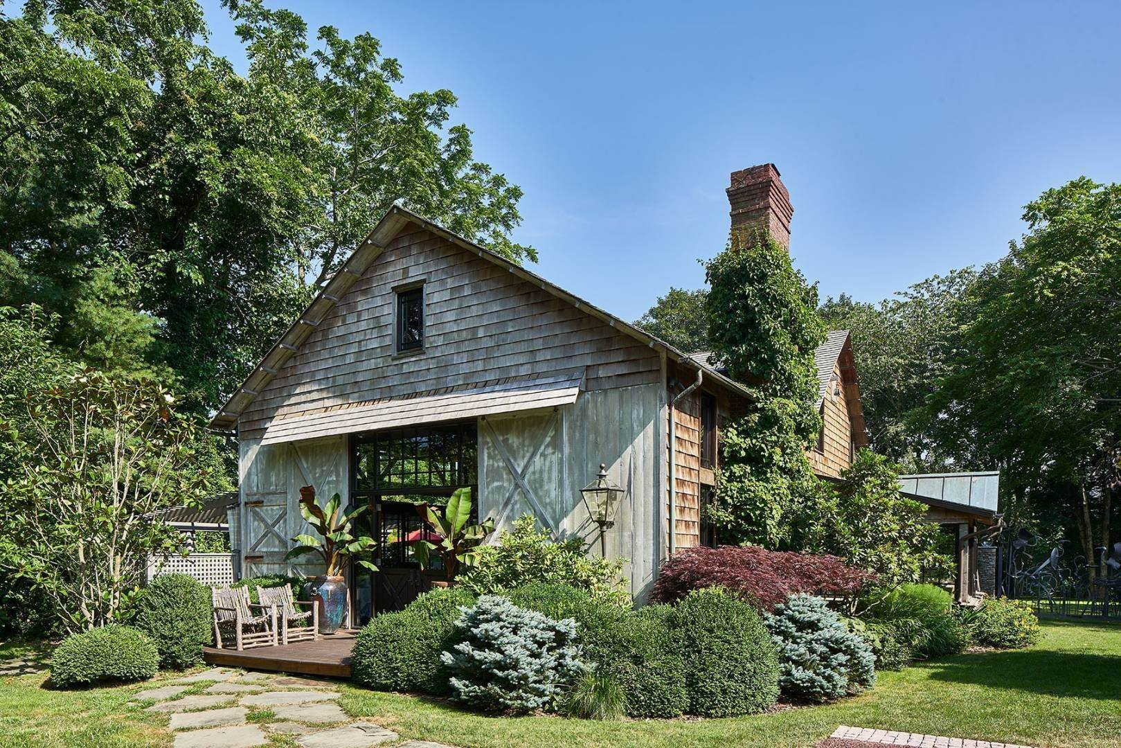 Single Family Home at Unique East Hampton Village Barn East Hampton, NY 11937