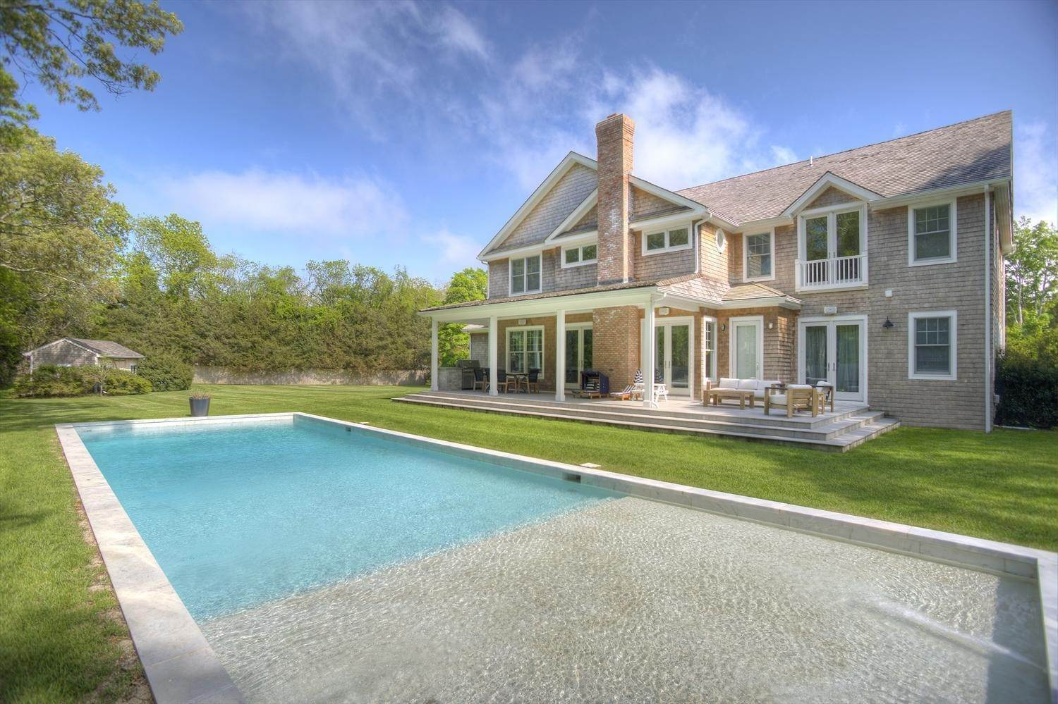 Single Family Home at Sumptuously Chic In Near North Water Mill 1028 Head Of Pond Road, Water Mill, NY 11976