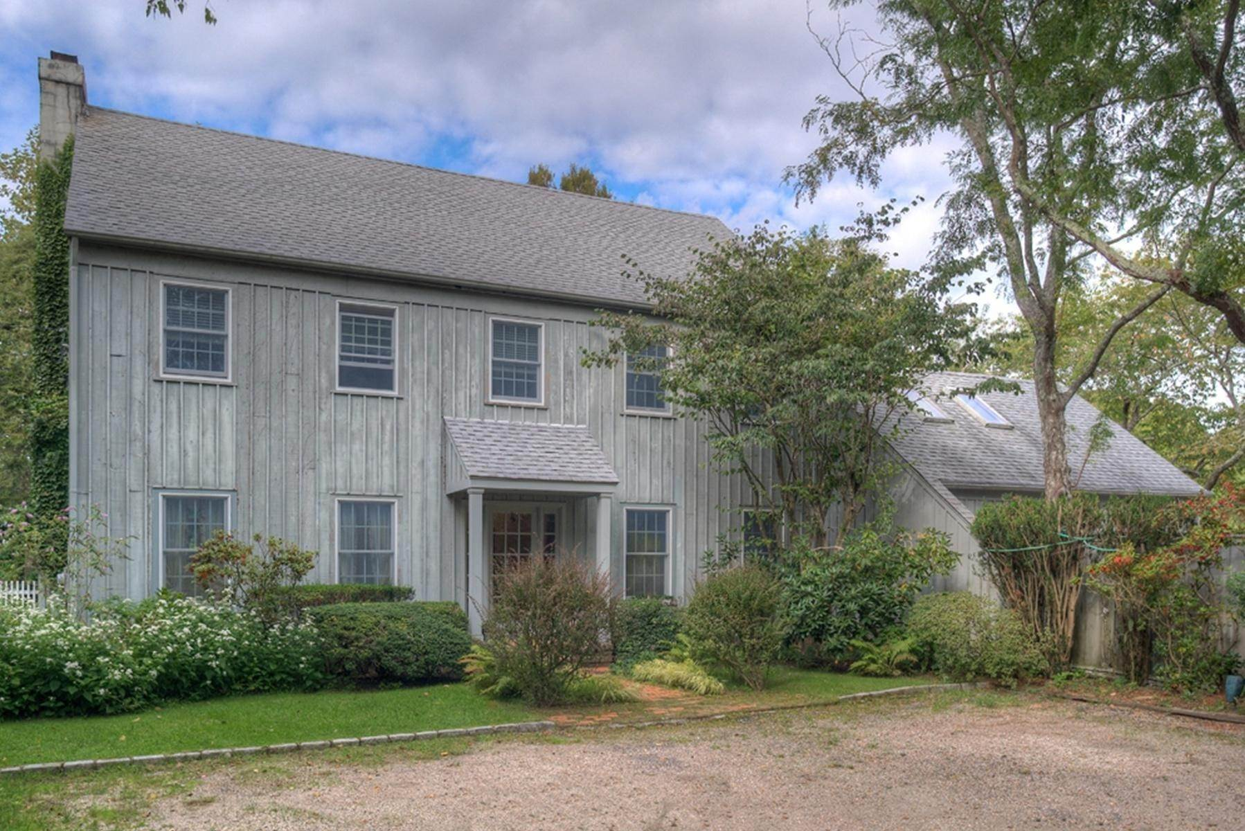 Single Family Home at Secluded Southampton Village Retreat Southampton, NY 11968