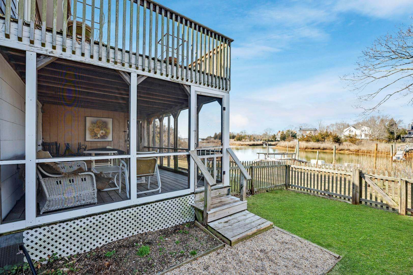 Single Family Home at One Bedroom Apartment On The Water Sag Harbor, NY 11963