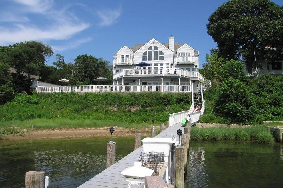 Single Family Home at Waterfront With Dock Sag Harbor, NY 11963