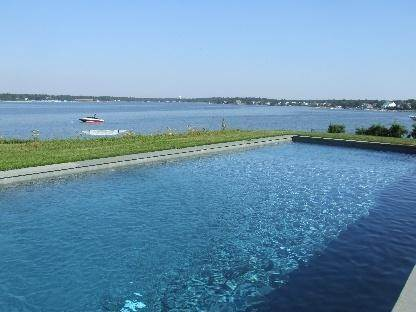 Single Family Home at Bayfront Beauty With Heated Pool Hampton Bays, NY 11946