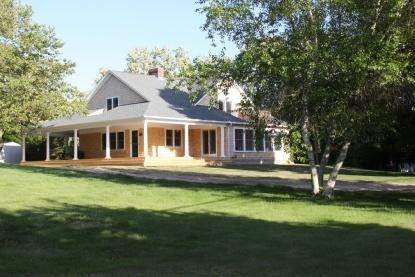 Single Family Home at Wades Beach Area Water View Home With Pool NY 11964