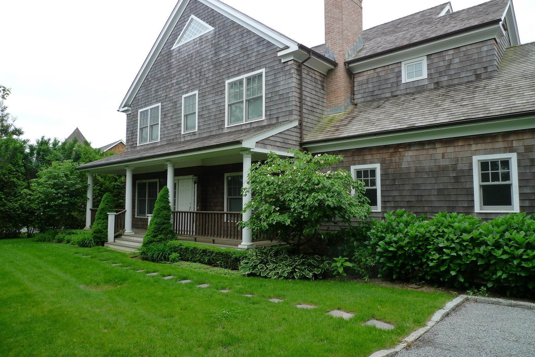 Single Family Home at Southampton Village Rental With Heated Pool Southampton, NY 11968