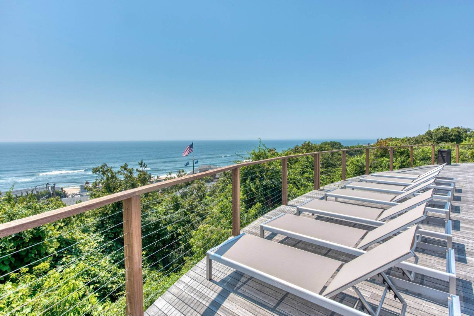 Single Family Home at Hilltop Oceanview Stunner With 5 Bedrooms, Pool Montauk, NY 11954