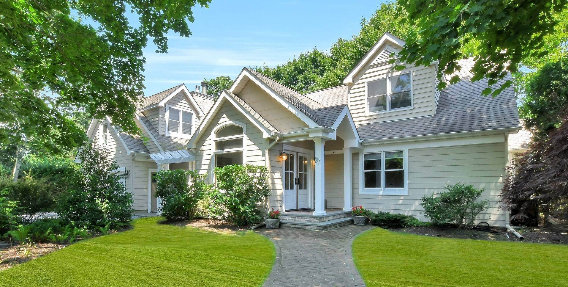 Single Family Home for Sale at Beautiful Post Modern South Of The Highway 27 Baycrest Avenue, Westhampton, NY 11977