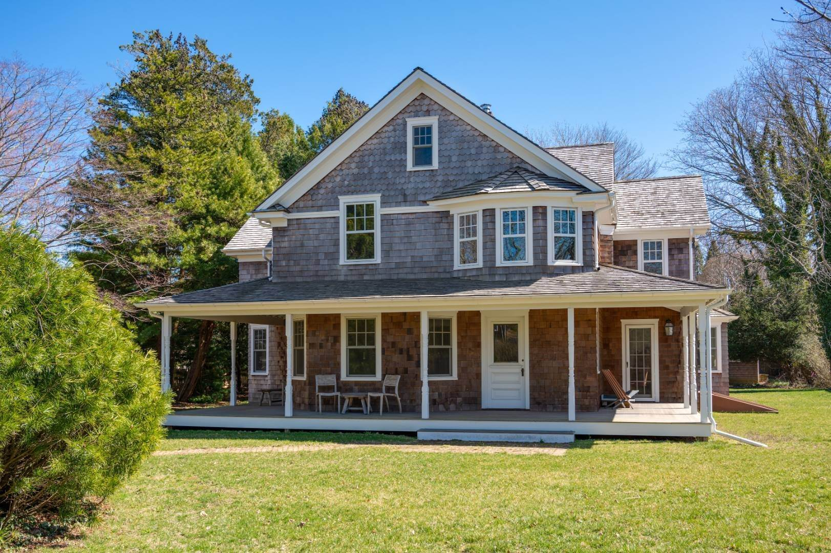 Single Family Home for Sale at Southampton Village Quintessential Beauty 166 Hampton Road, Southampton, NY 11968