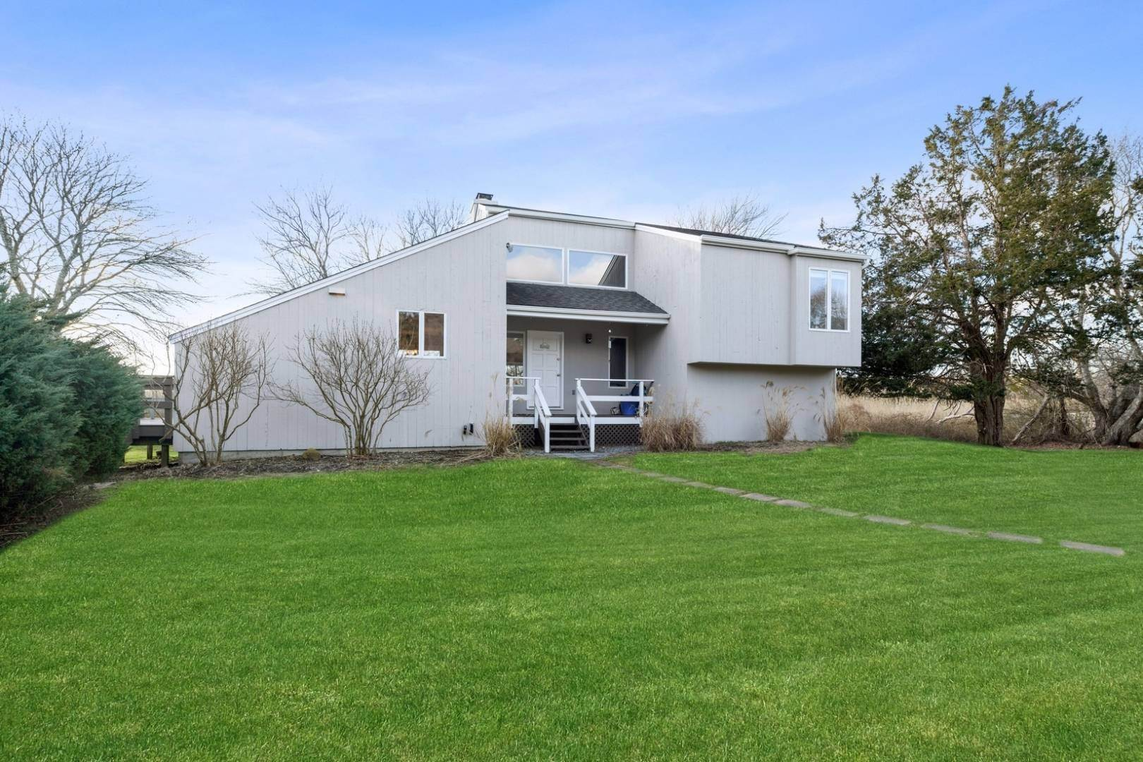 Single Family Home for Sale at Pond Front Contemporary In Remsenburg 19 Rogers Lane, Remsenburg, NY 11960