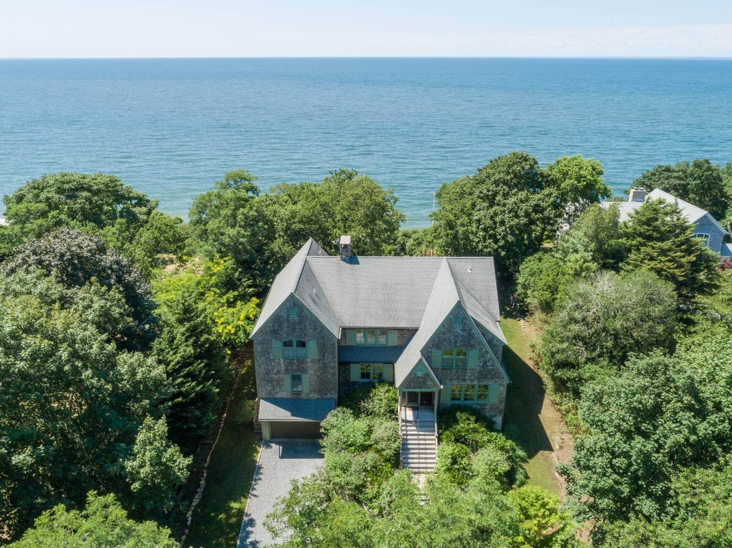 Single Family Home for Sale at Soundfront With Panoramic Views 1700 Hyatt Road, Southold, NY 11971