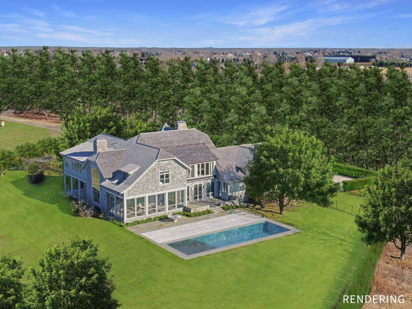 Single Family Home for Sale at Heart Of The Hamptons Contemporary 200 Guyer Rd, Bridgehampton, NY 11932