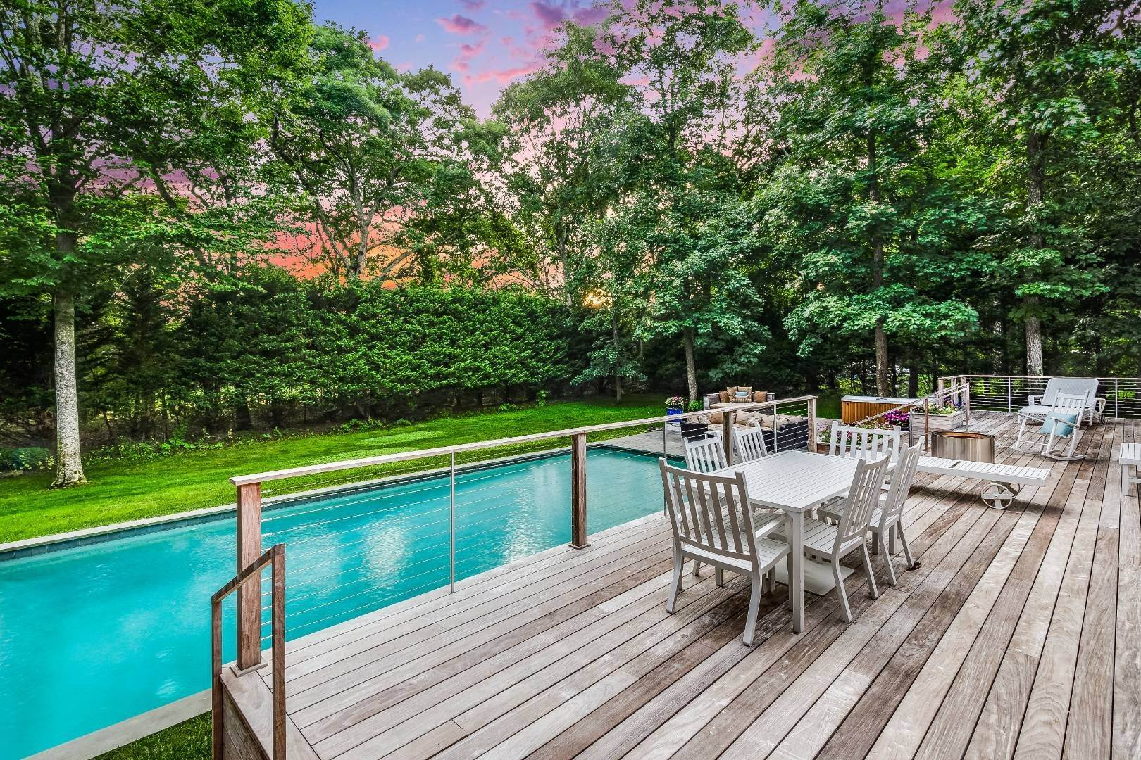 Single Family Home for Sale at Chic Beach House 36 Woodland Drive, Sag Harbor, NY 11963