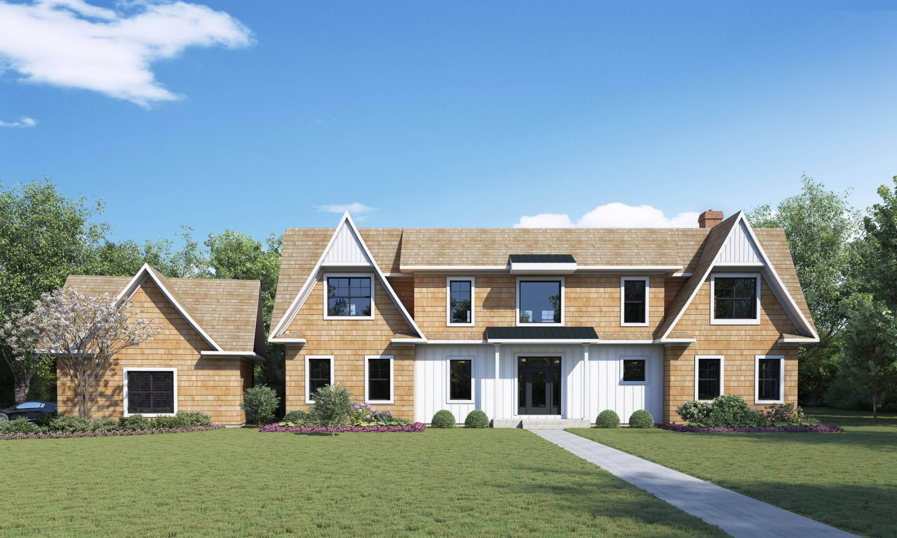 Single Family Home for Sale at New Estate In Southampton 1 Hannah's Court, Southampton, NY 11968