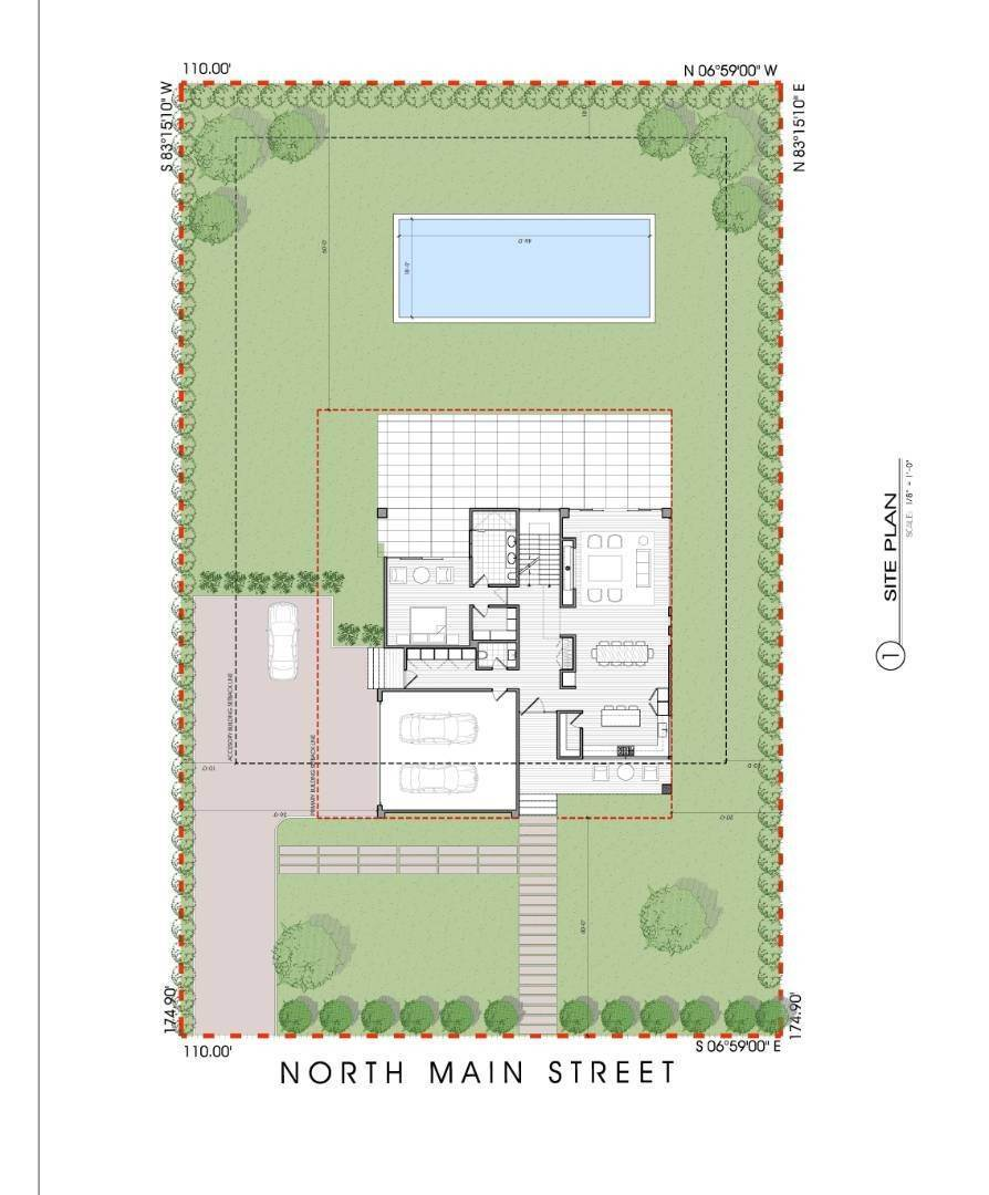 Single Family Home for Sale at New Construction-399 North Main Street, Southampton Southampton, NY 11968
