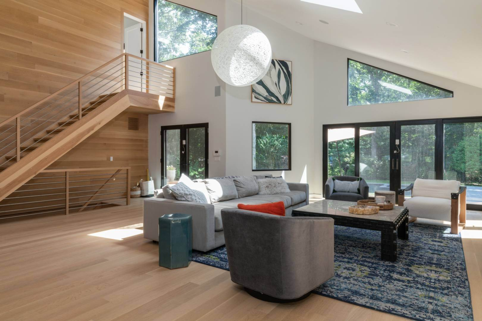 3. Single Family Home at Magnificent Modern With Heated Saltwater Pool 4 Ruffed Grouse Court, East Hampton, NY 11937
