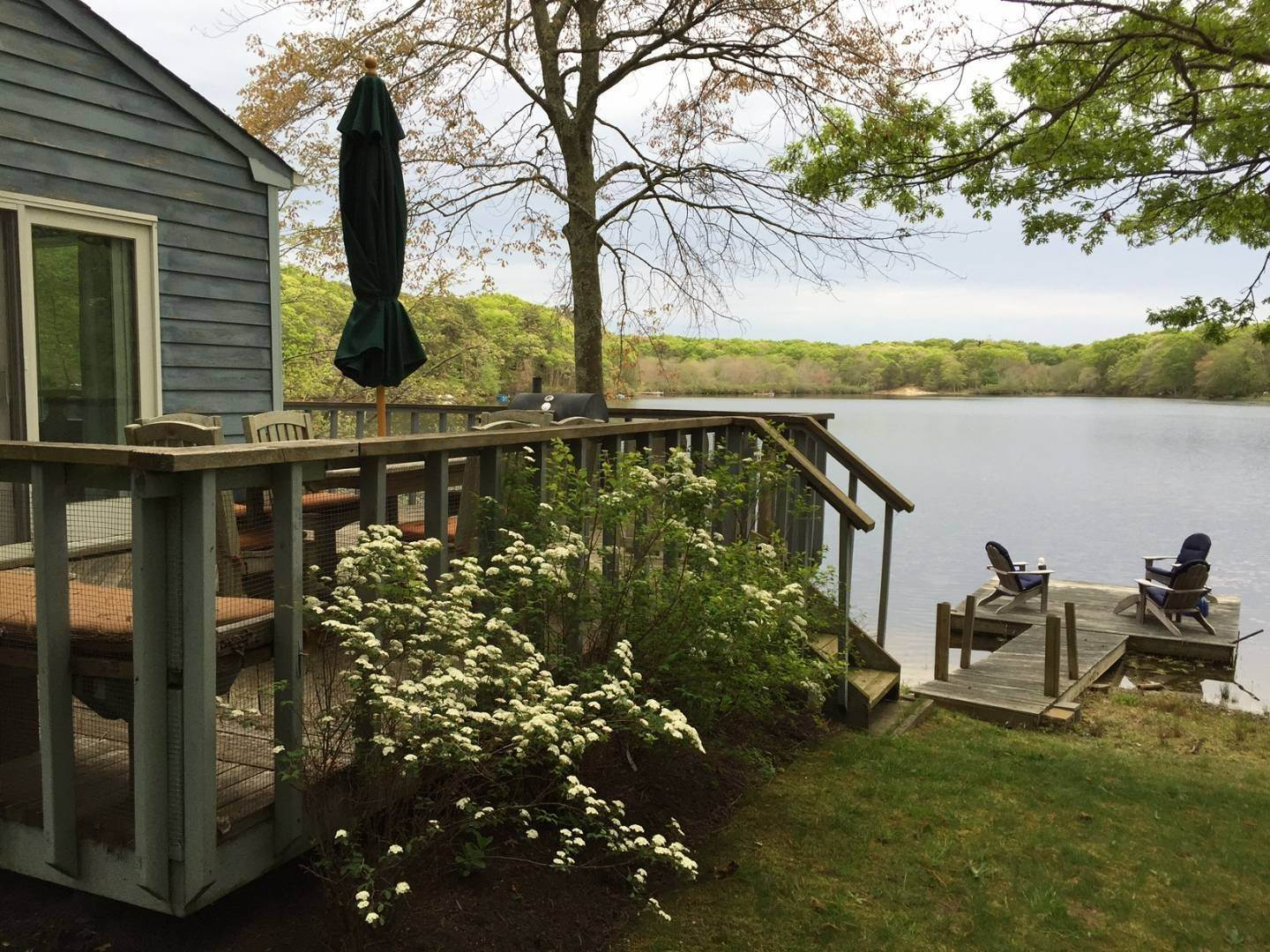 Single Family Home at Tranquil, Picturesque Southampton Pond Front Southampton, NY 11968