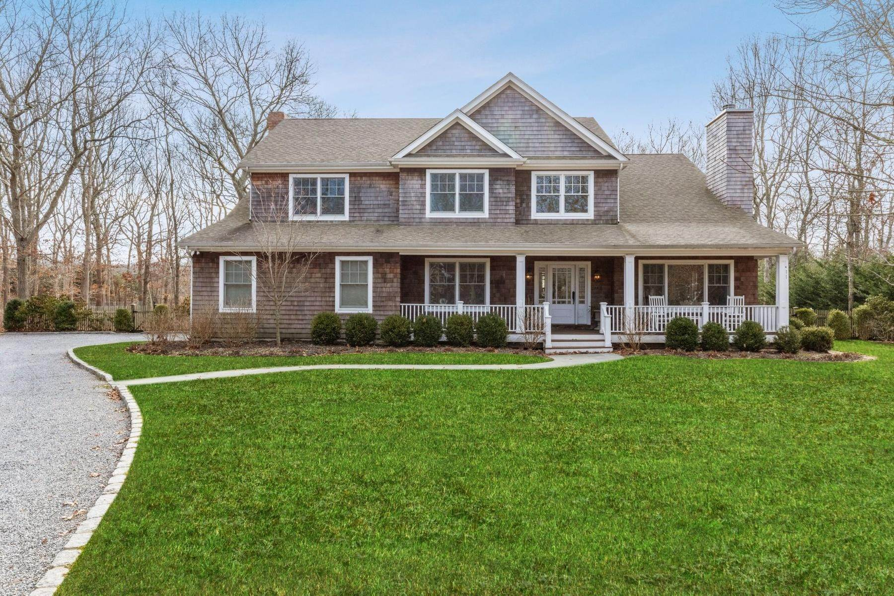 Single Family Home at Southampton Traditional Newly Furnished Southampton, NY 11968