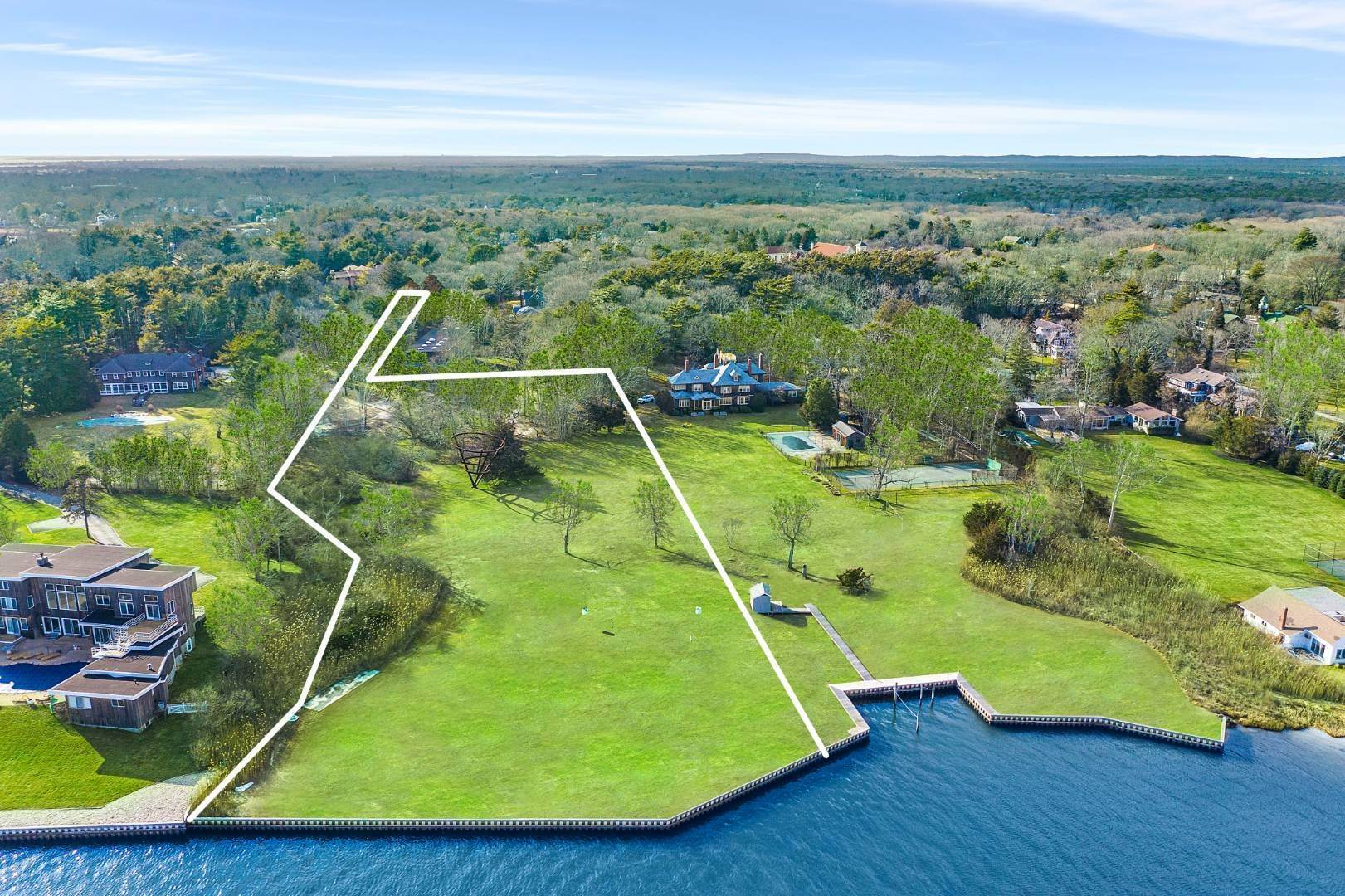 Land for Sale at Bayfront Vacant Land 547 Main Street, Quiogue, NY 11978