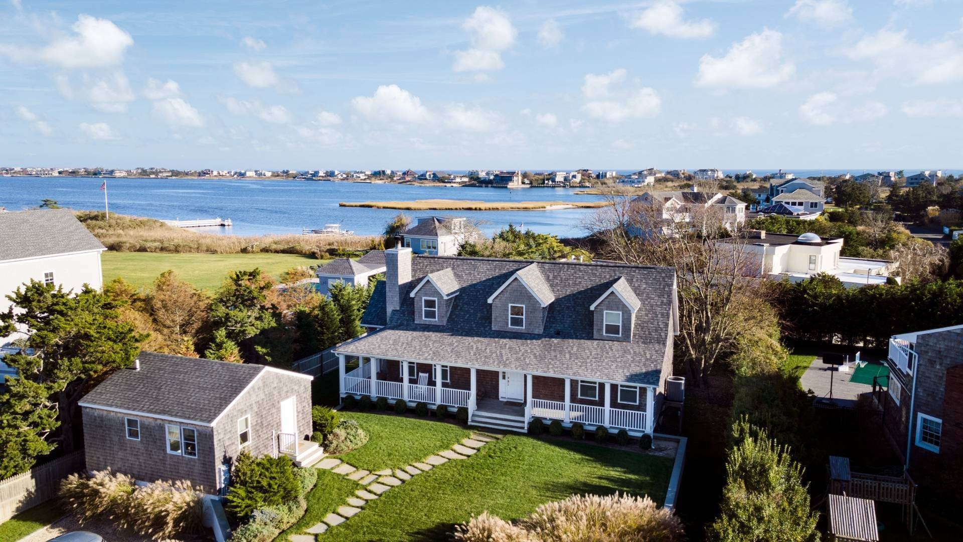 Single Family Home for Sale at Waterviews With Pool And Guest Cottage 31 Exchange Pl, Westhampton Beach Village, NY 11978