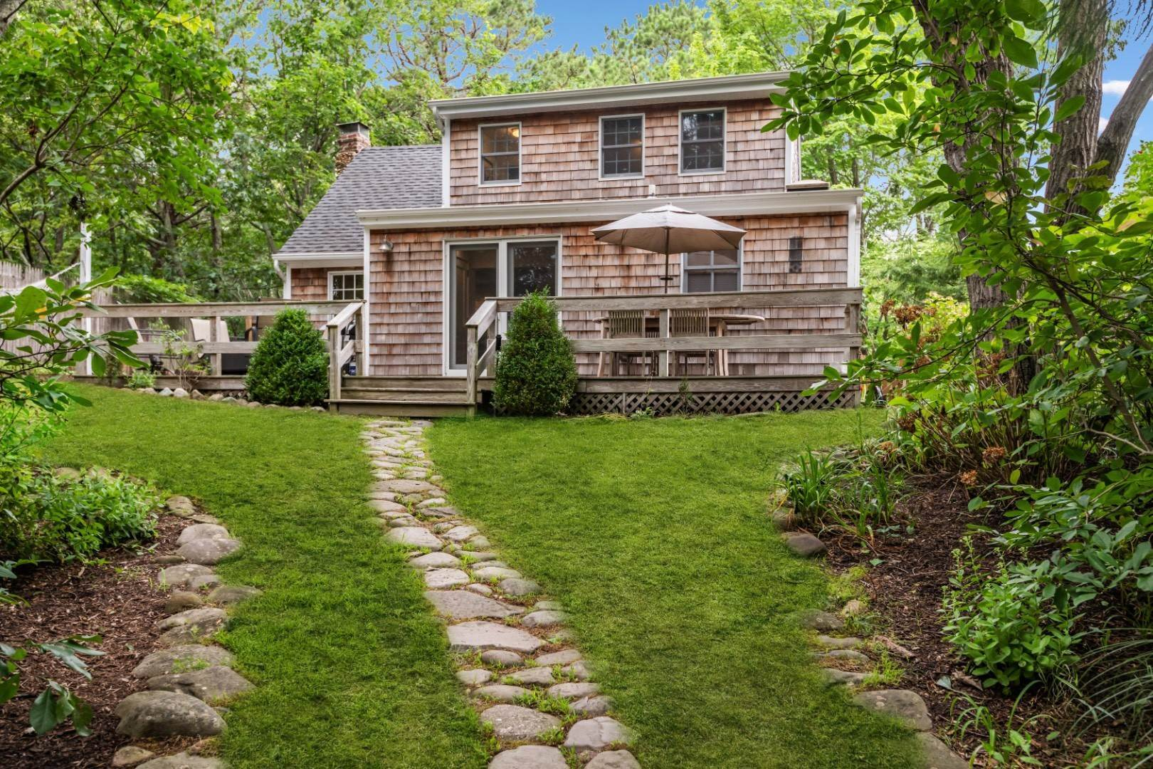 Single Family Home at Sag Harbor Mini Compound W/ Main House & Cottage By Long Beach. 49 Wickatuck Drive, Sag Harbor, NY 11963