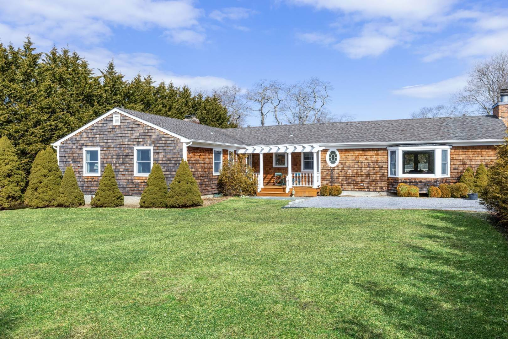 Single Family Home for Sale at Charming Southampton Ranch, Pool & Private 12 Country Club Dr, Southampton, NY 11968