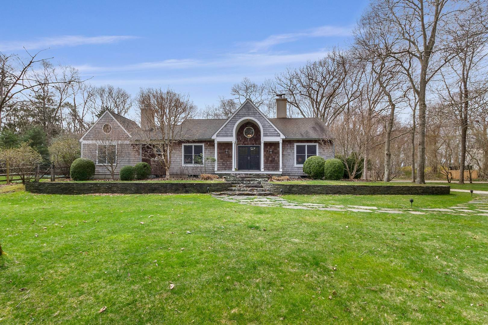 2. Single Family Home for Sale at Historic Springs Two-House Compound 104 Old Stone Hwy, East Hampton, NY 11937
