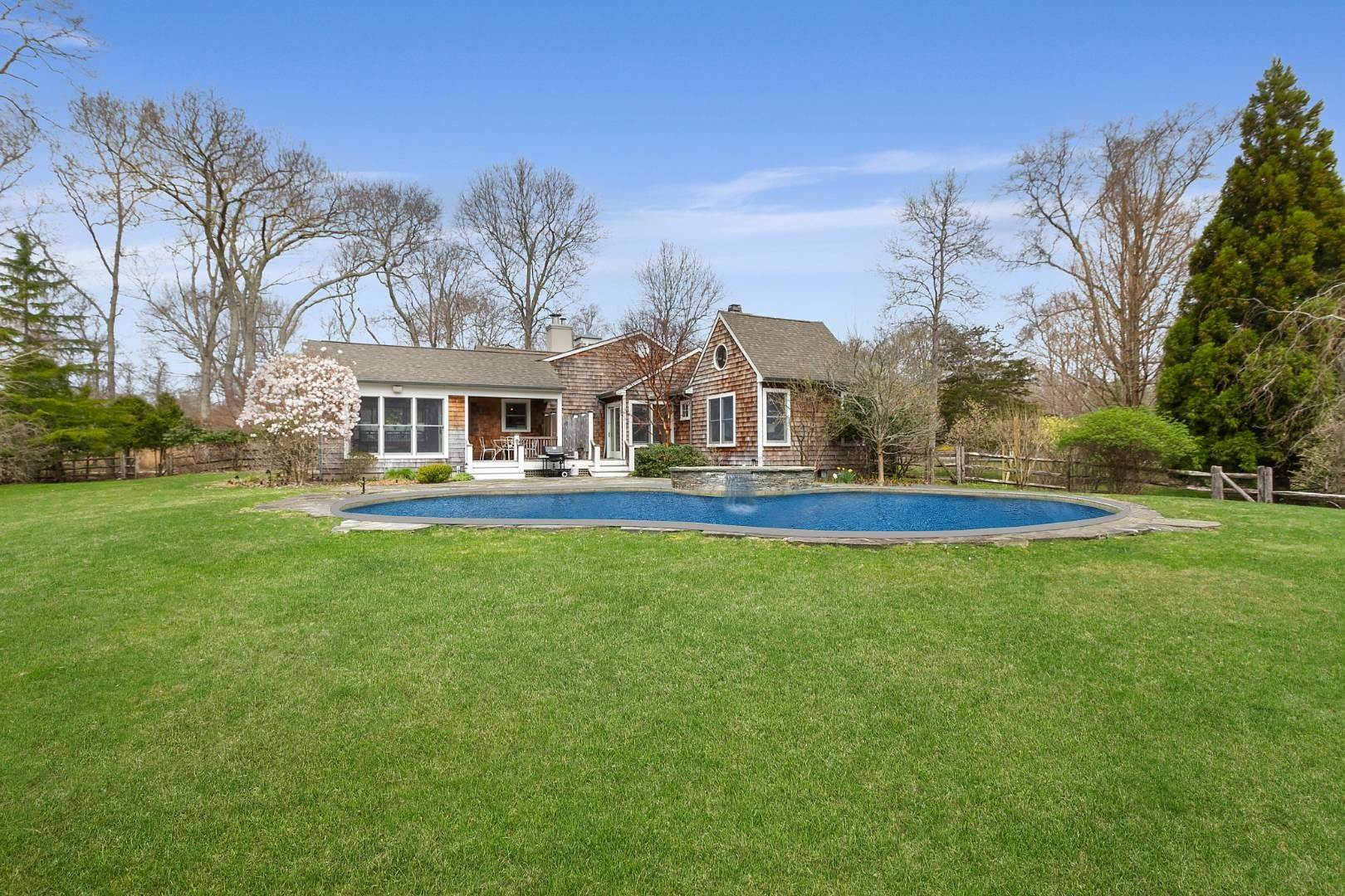 Single Family Home for Sale at Historic Springs Two-House Compound 104 Old Stone Hwy, East Hampton, NY 11937