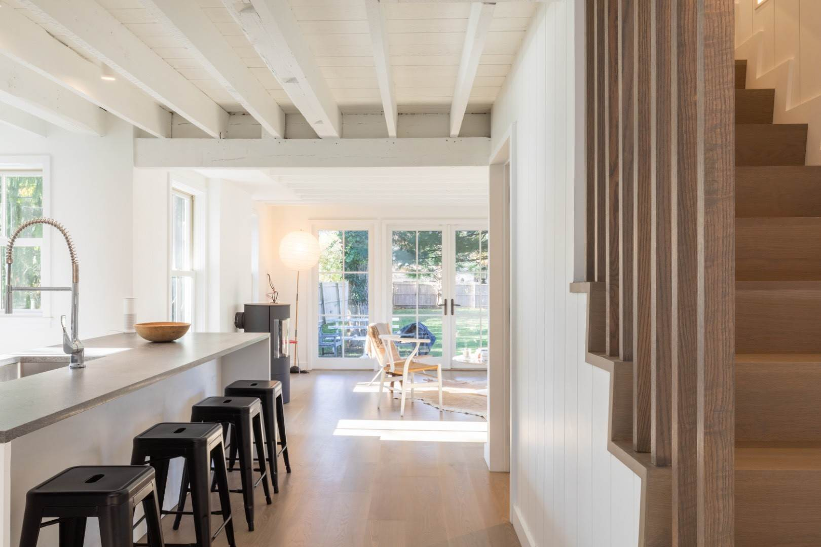 Single Family Home at Scandinavian-Modern Minimalist Style 1880's Farmhouse In Eh. 137 Accabonac Rd, East Hampton, NY 11937
