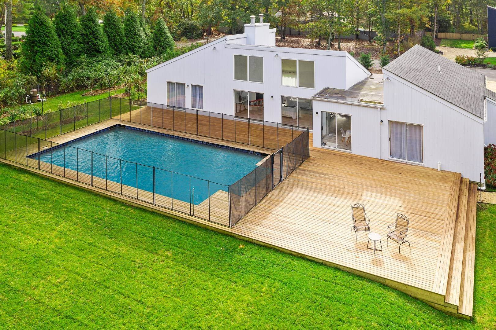 Single Family Home for Sale at Spacious East Quogue Contemporary On Sizable Property 6 The Registry, East Quogue, NY 11942