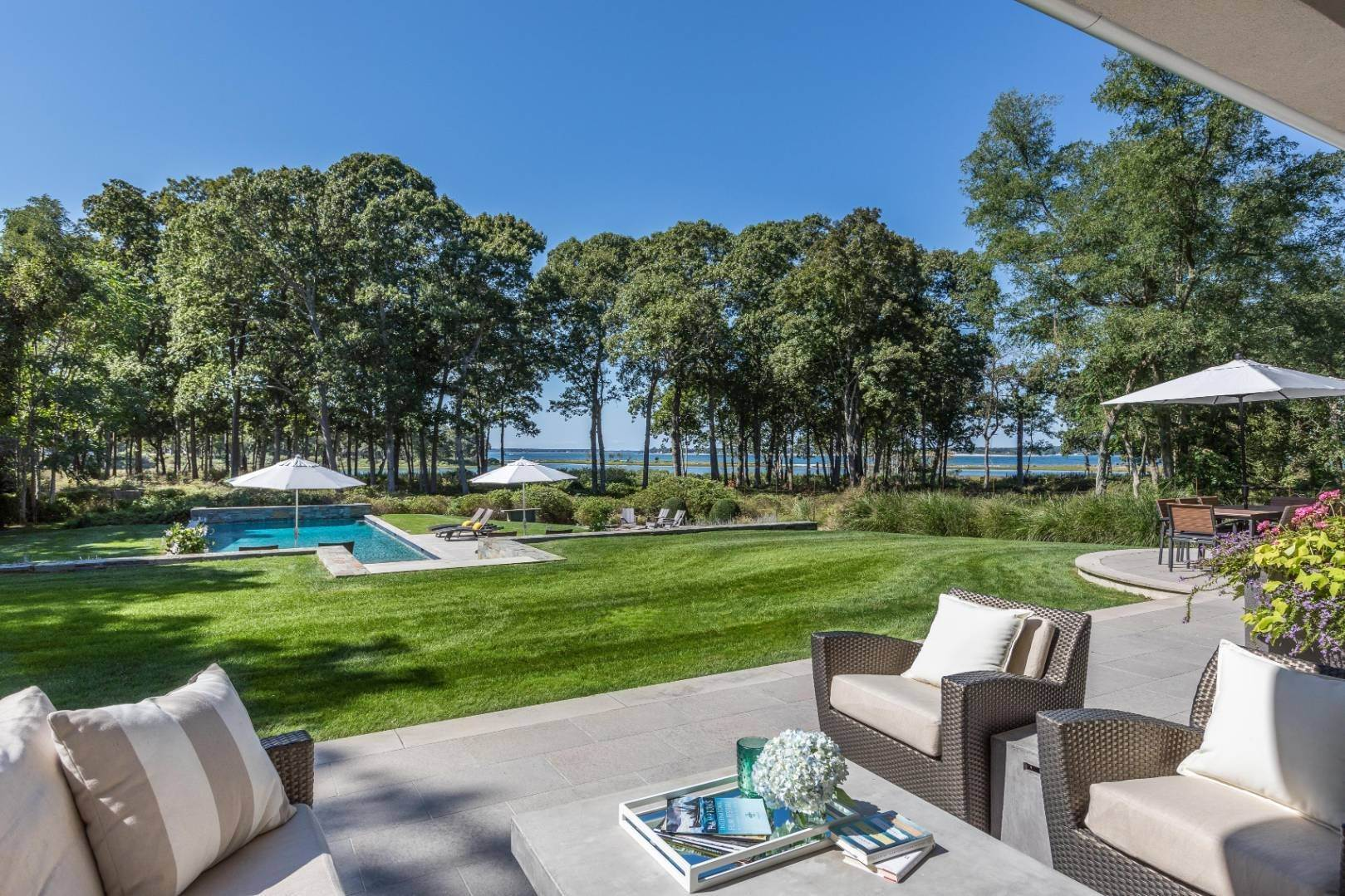 Single Family Home for Sale at Modern Waterfront Sanctuary In North Haven Point 27 Ezekills Hollow, Sag Harbor, NY 11963