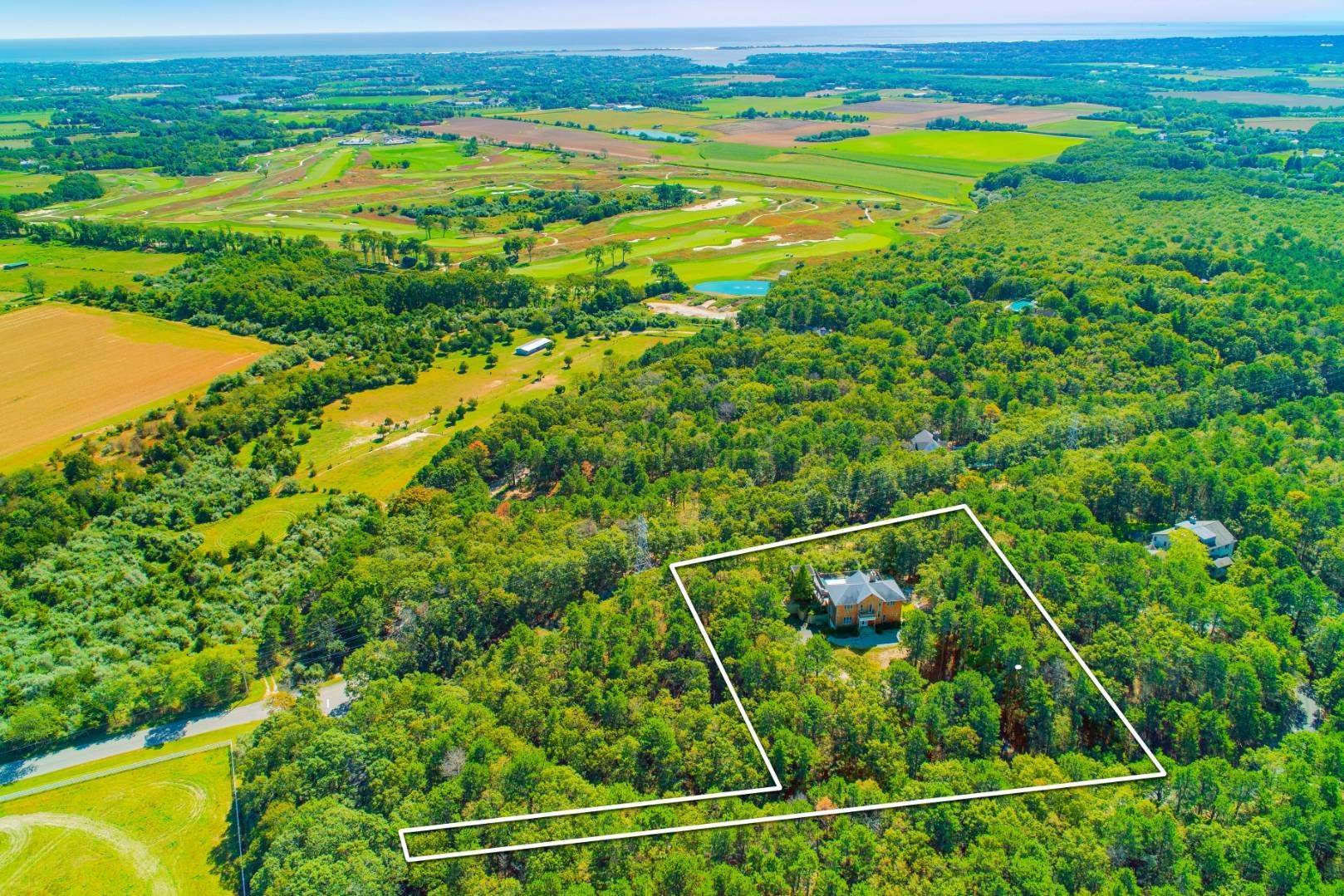Land for Sale at Two Acres With Stunning Views 1046 Noyac Path, Water Mill, NY 11976