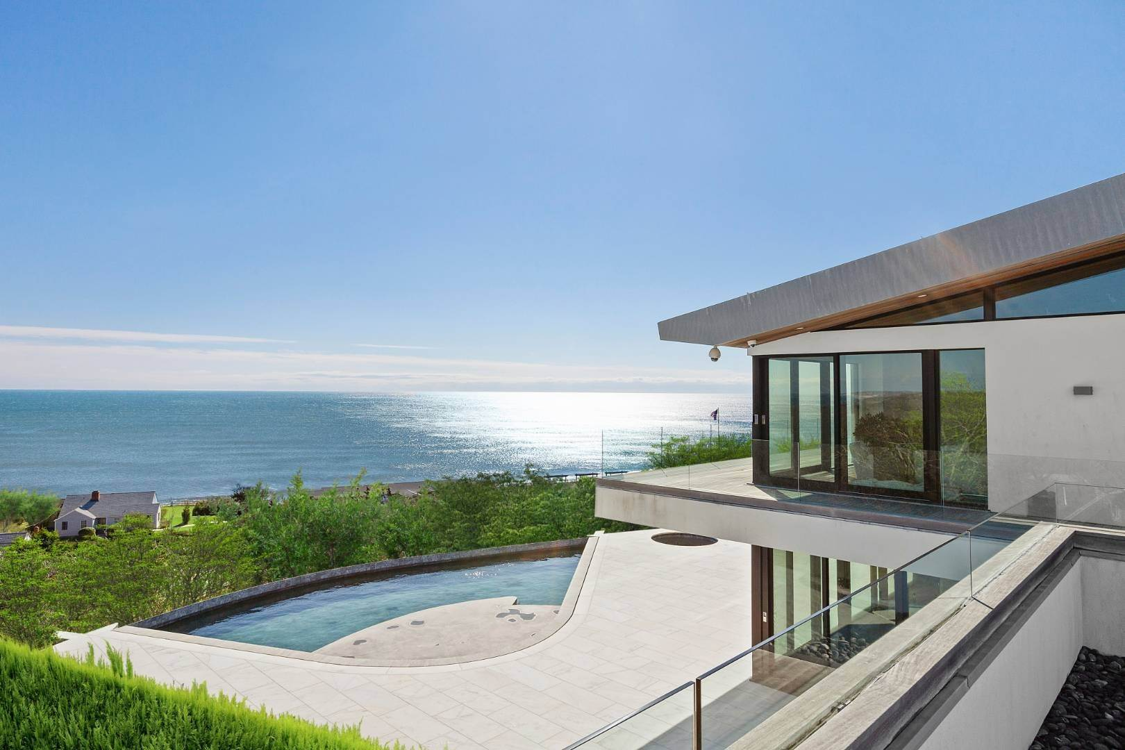 Single Family Home at Modern Living Overlooking The Ocean Montauk, NY 11954