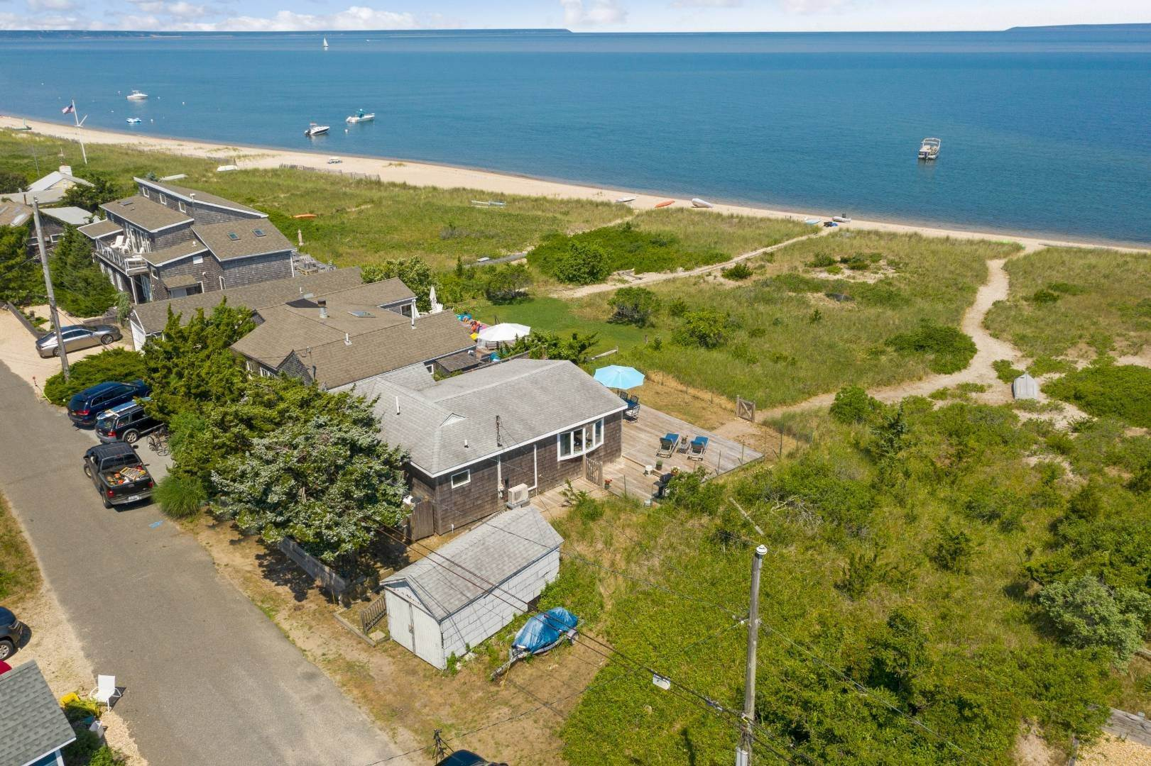Single Family Home for Sale at Amaganett Waterfront 176 Shore Road, Napeague, NY 11944