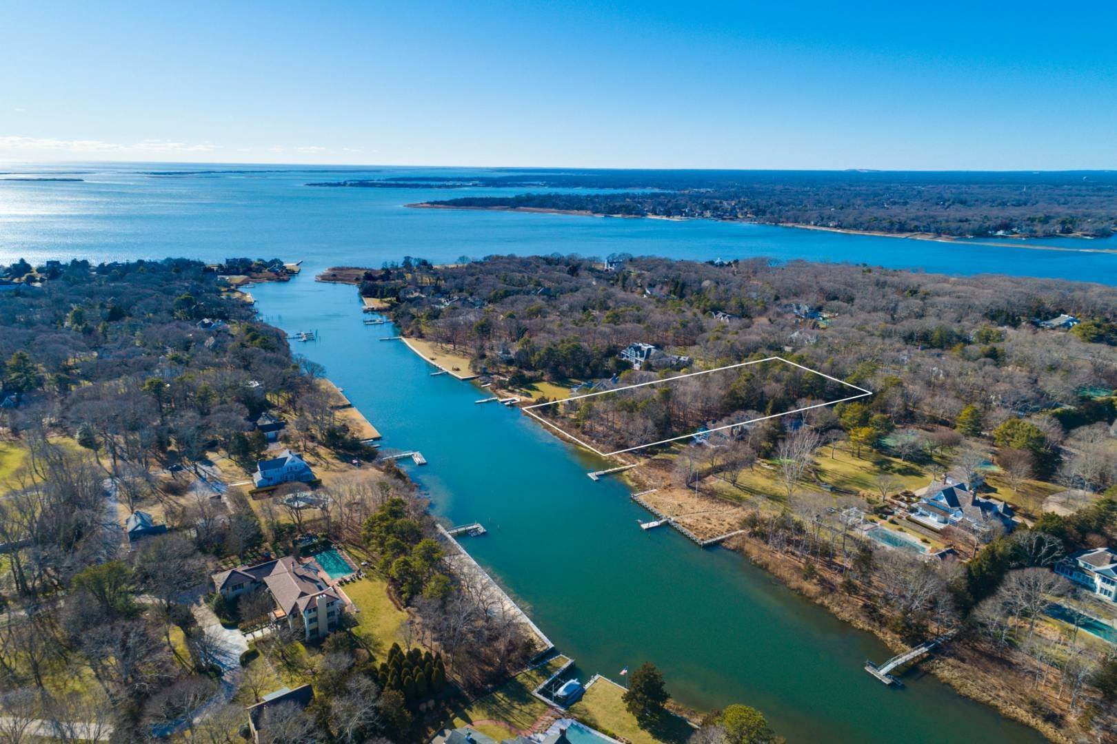 Land for Sale at Waterfront Buildable Land Cedar Lane Remsenburg 36 Cedar Lane, Remsenburg, NY 11960