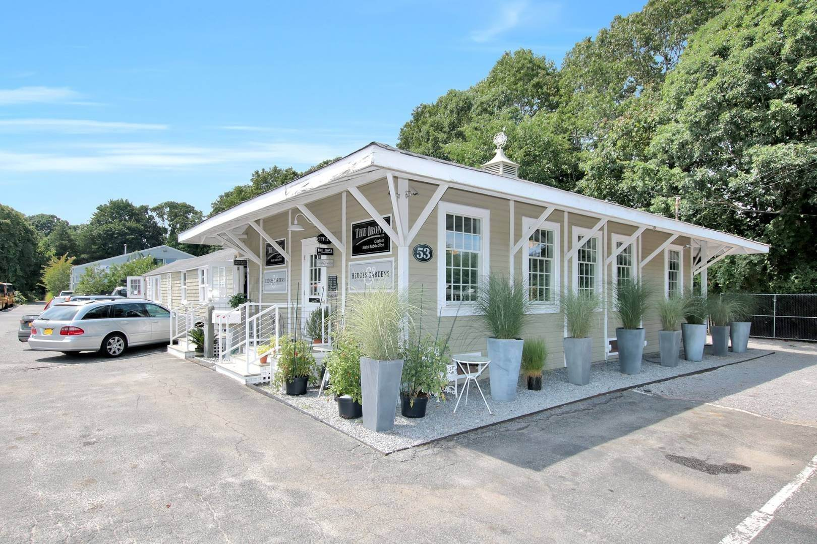 Commercial for Sale at East Hampton Commercial / Industrial Site 53 Route 114, East Hampton, NY 11937