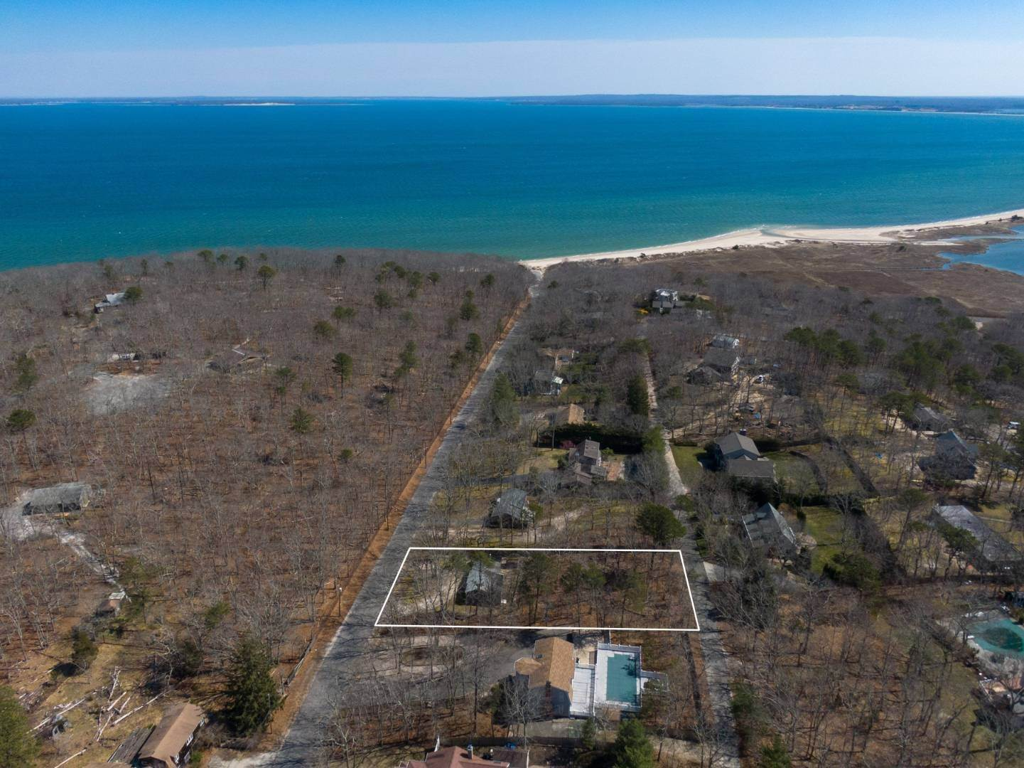 Single Family Home for Sale at Cottage By The Beach 6 West Landing Road, Hampton Bays, NY 11946