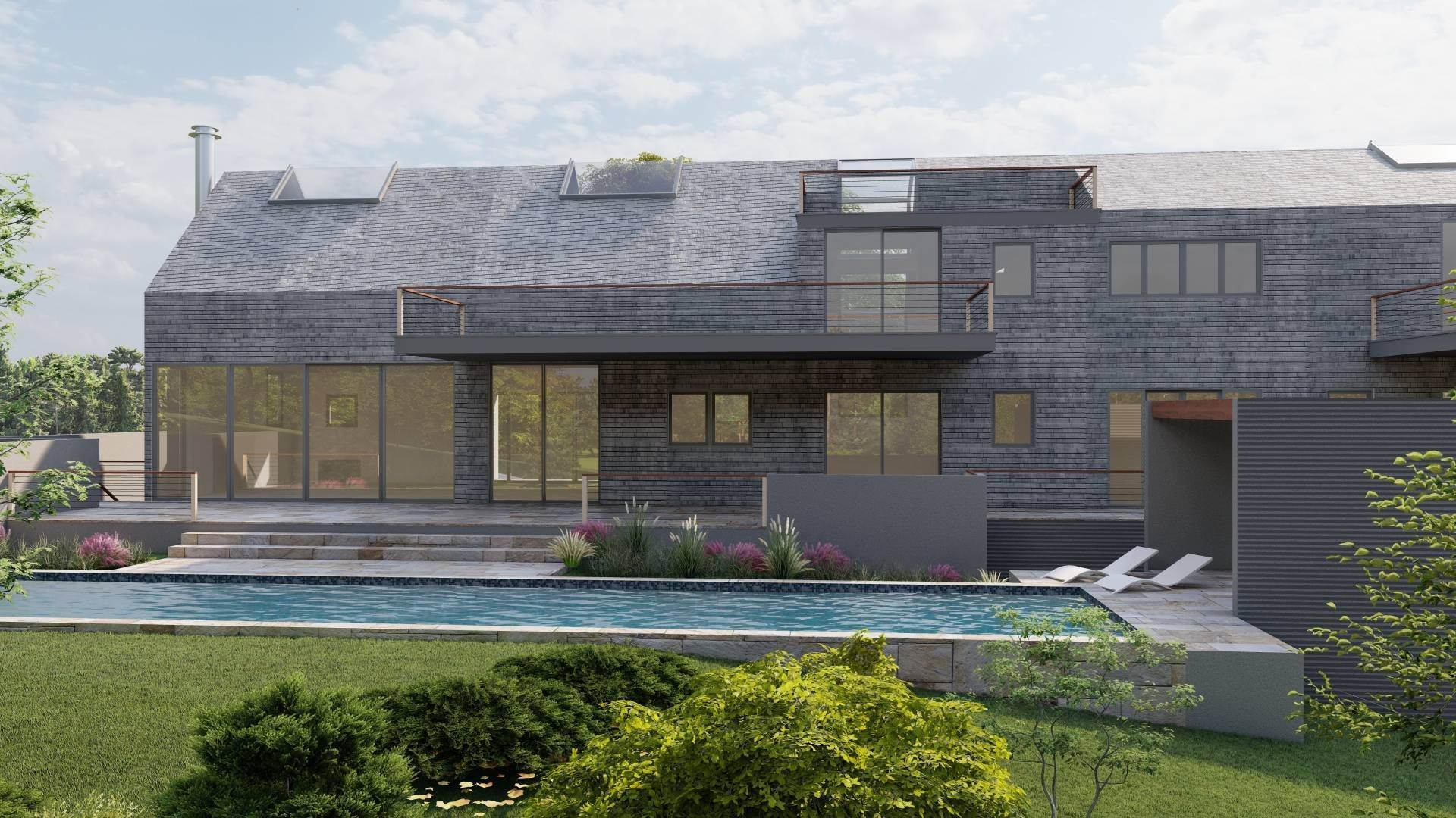 Single Family Home for Sale at Startop New Modern Construction With 360 Water Views 37 Startop Drive, Montauk, NY 11954