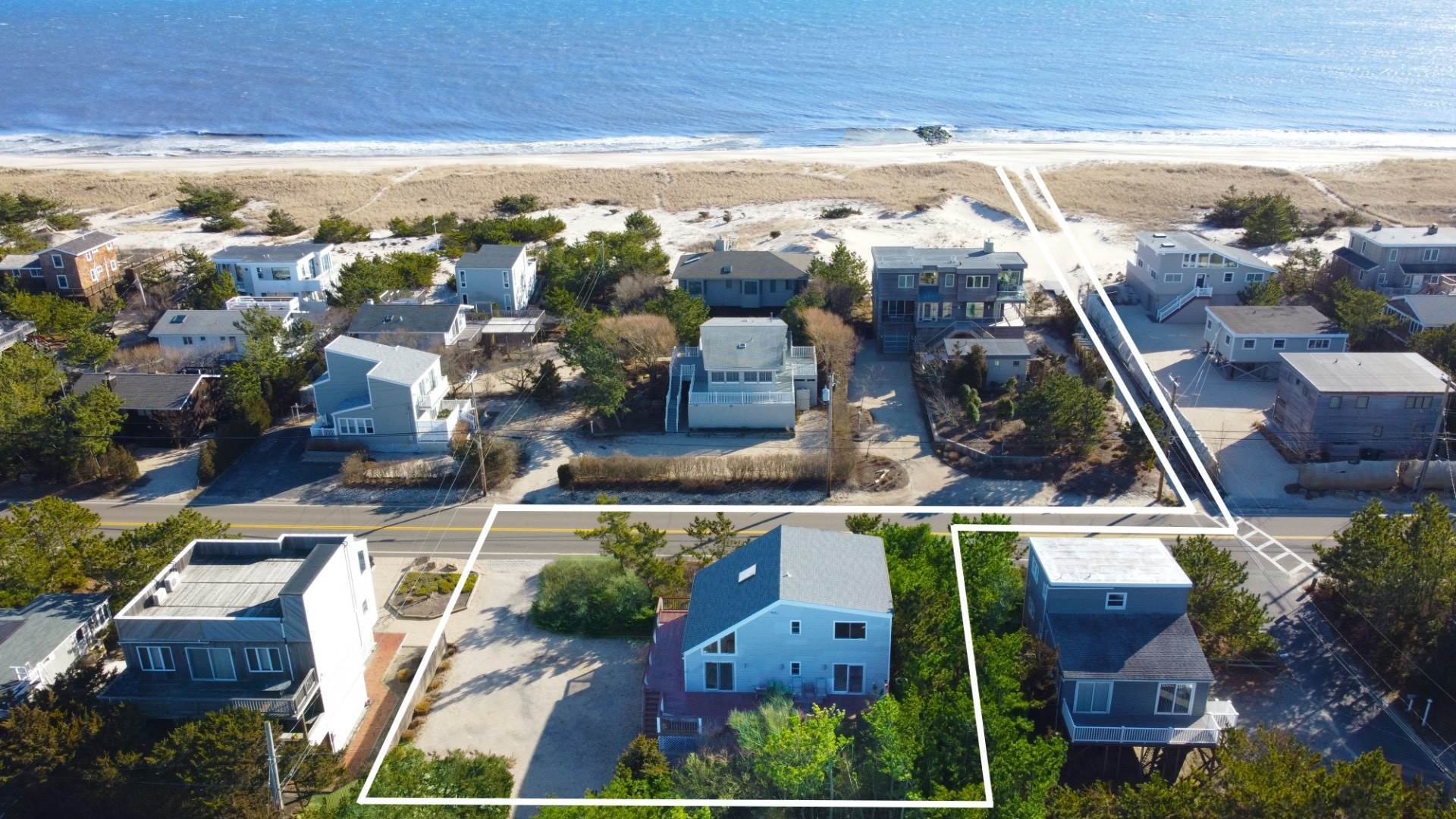 Single Family Home for Sale at Your Chance To Own A Summer Residence On World Renowned Dune Rd 424a Dune Rd, Westhampton Beach Village, NY 11978