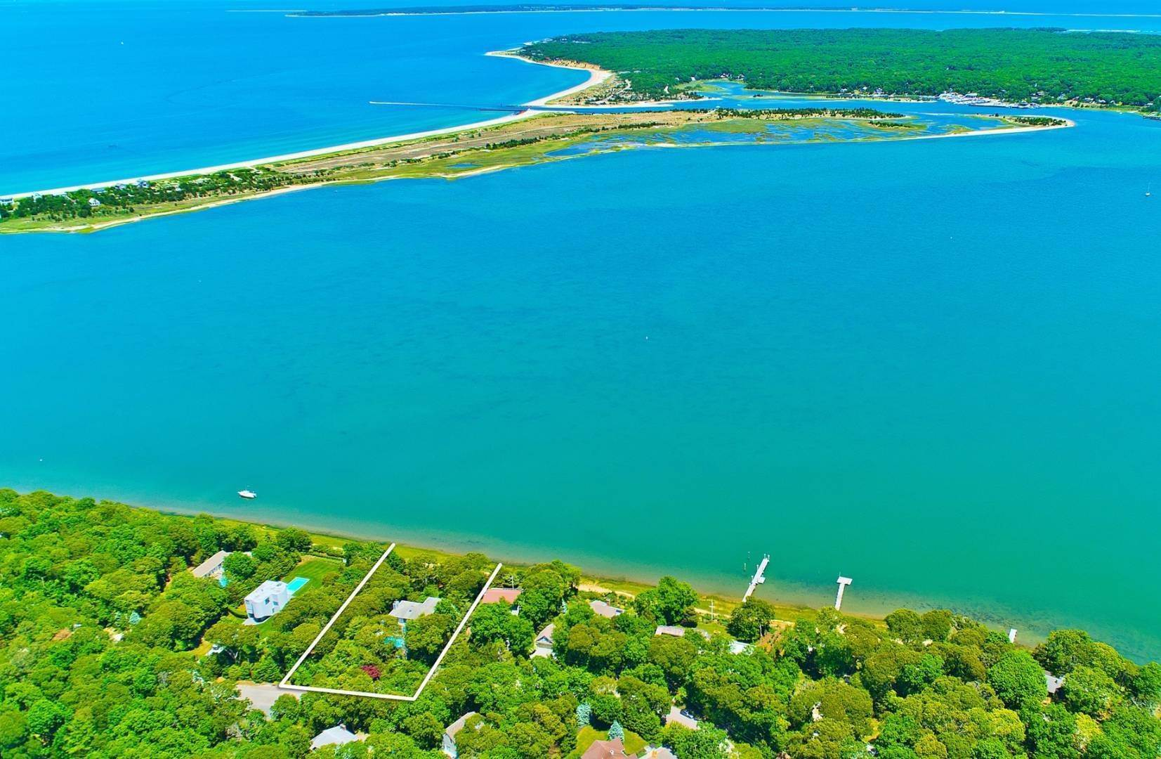 Single Family Home for Sale at Spectacular Waterfront Living 26 Three Mile Harbor Drive, East Hampton, NY 11937