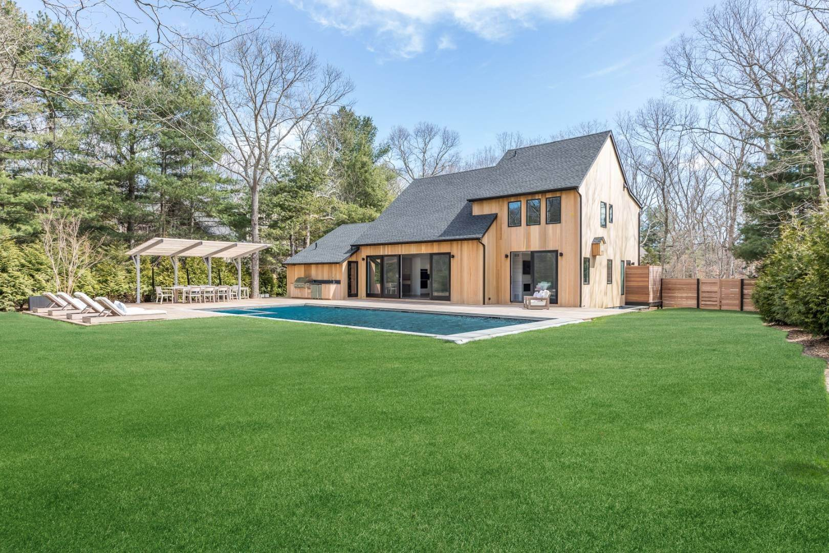 Single Family Home for Sale at Custom New Construction With Unparalleled Amenities 62 Settlers Landing Lane, East Hampton, NY 11937